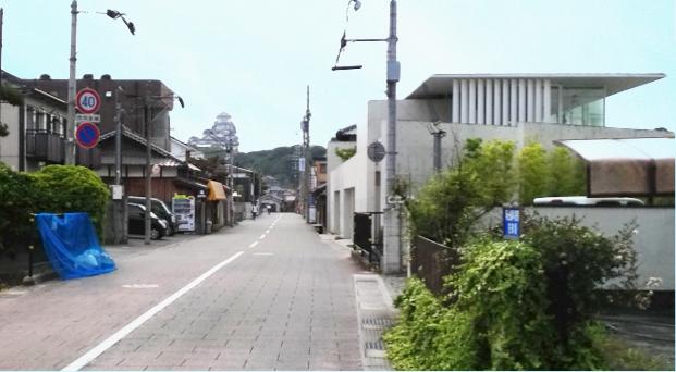 姫路城西側散歩コース8