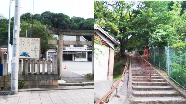 姫路城西側散歩コース11