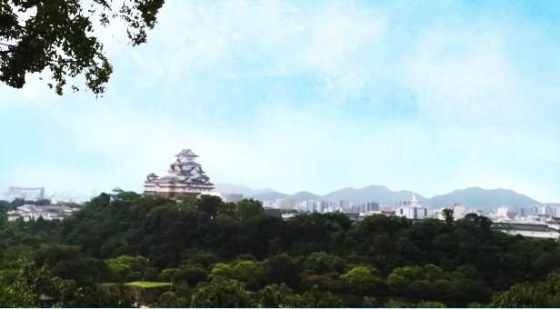 姫路城西側散歩コース14