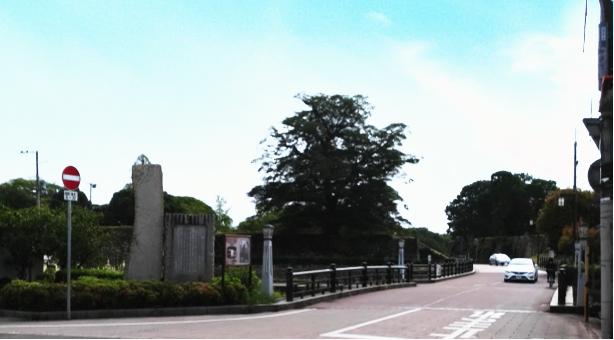 姫路城西側散歩コース16