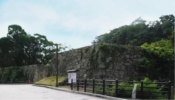 姫路城西側散歩コース17