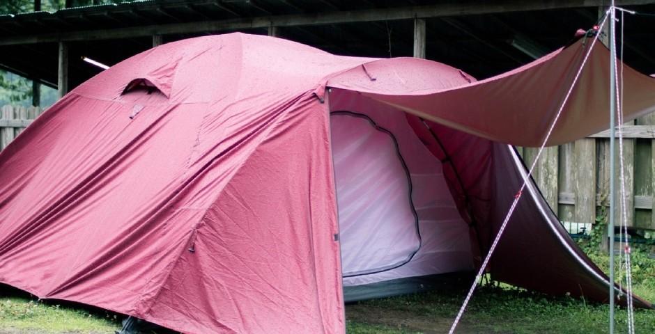 ダブルウォールフルクローズタイプのテント