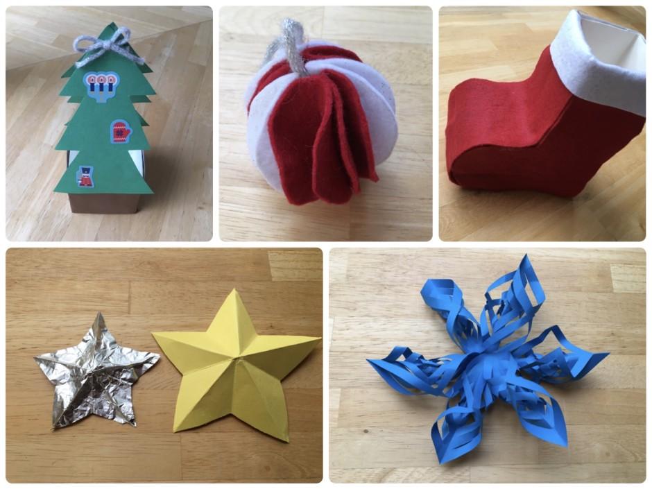 手作りクリスマスオーナメント6選
