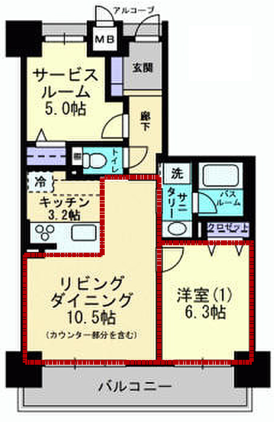 居室の範囲
