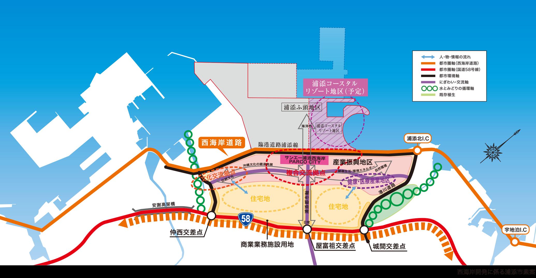 浦添市西海岸開発計画
