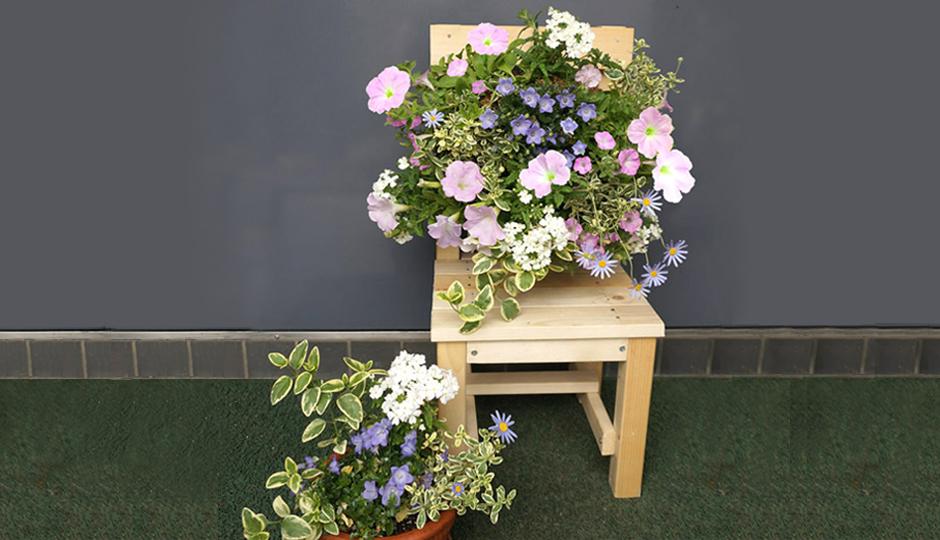 ベランダガーデニングをもっと楽しむために!DIYでミニ椅子作りにチャレンジ